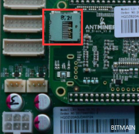 L3, L3 + and L3++ Control Board Program Recovery – Bitmain